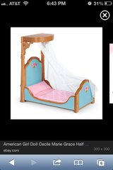 American girl canopy bed in Chicago, Illinois