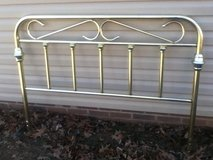 Brass Full Size /   Headboard in Fort Campbell, Kentucky