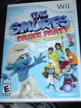 NEW Wii The Smurfs Dance Party game in Fort Riley, Kansas