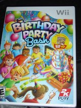 NEW Wii Birthday Party  Bash game rated E in Manhattan, Kansas