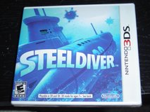 NEW 3DS Steel Diver game rated E10+ in Fort Riley, Kansas