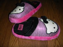 Hello Kitty Sparkly Sequined Girls Large 4-5 Slippers in Kingwood, Texas