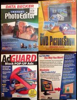 3 PC programs - DVD, Pictures, Ad Guard in Baytown, Texas