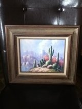 Creative Art Gallery Cactus Oil Painting Picture in Fort Campbell, Kentucky