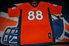 nwt 2014 denver broncos # 88 demaryius thomas nfl jersey size xl youth 18-20 in Huntington Beach, California