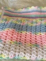 Baby Blanket Afghan (New) in Quantico, Virginia
