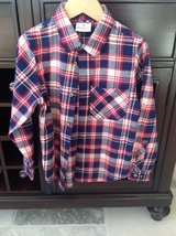 Boys Hanna Andersson Flannel Button Down Shirt Size 6-7 in St. Charles, Illinois