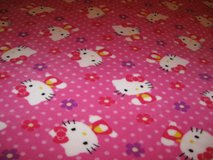 Hello Kitty Microfleece Blanket in Fort Bragg, North Carolina
