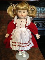 Porcelain Face Doll w/ Stand in Warner Robins, Georgia