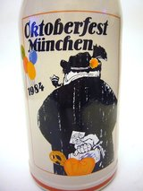 Octoberfest Stein 1984 Official Mug in Ramstein, Germany