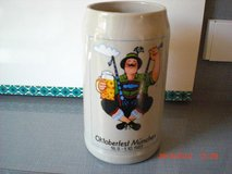 Octoberfest Stein 1989 Official Mug in Ramstein, Germany