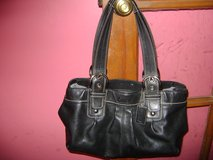beautiful black leather coach purse in Chicago, Illinois