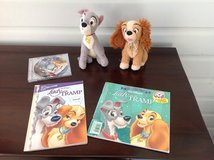 Disney Lady & The Tramp Dolls, Books and CD in Naperville, Illinois