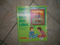 Childrens Religion Schoolbook with free blessed candle in Ramstein, Germany