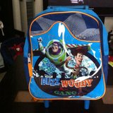 Toy Story Toddler Small Bookbag w/ wheels in Columbus, Georgia