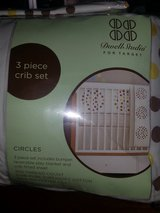 Circles crib bedding in Bolingbrook, Illinois